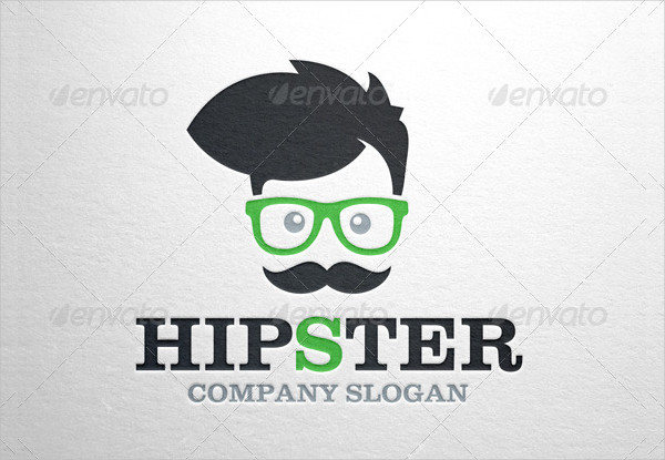Professional Hipster Business Logo Template
