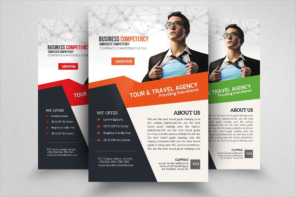 Travel Business Training Flyer Template