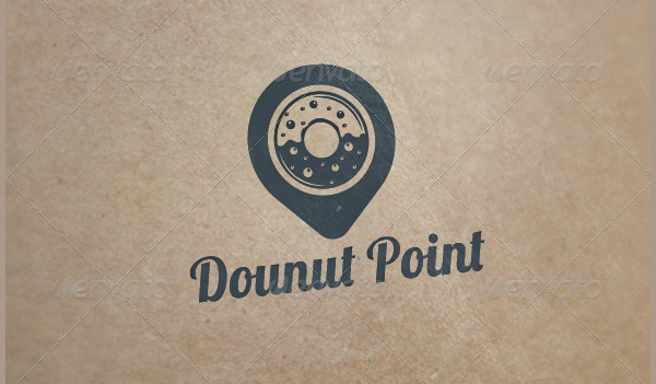 Donut Point Logo Template