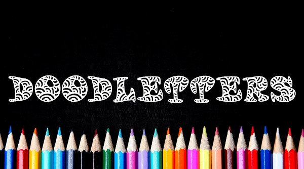 Doodle Letters Font Free Download