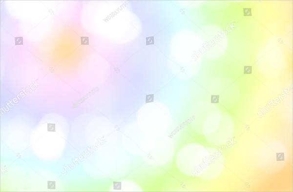 Dream Rainbow Color Light Background