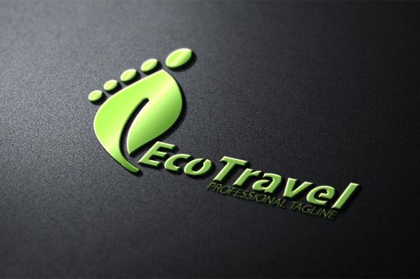 Eco Travel Logo Template