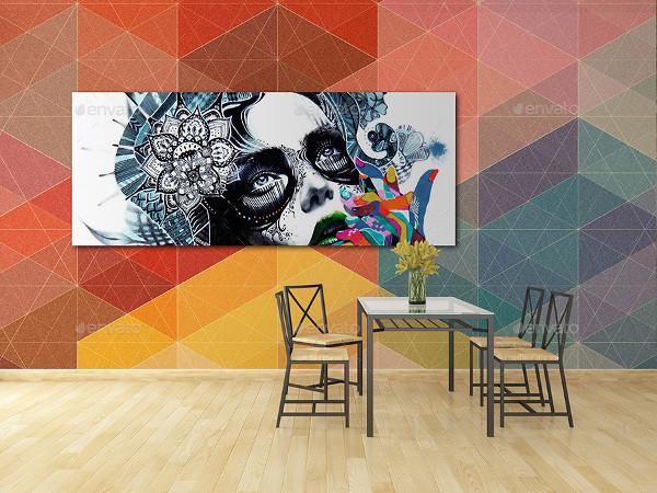 Editable Wall Art Mockups