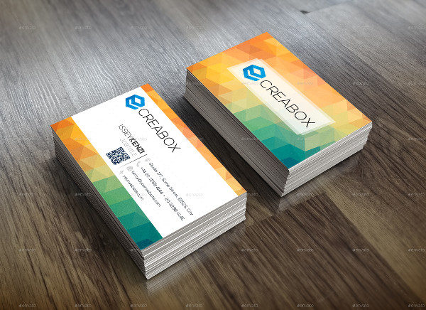 Elegant Colorful Business Card Template