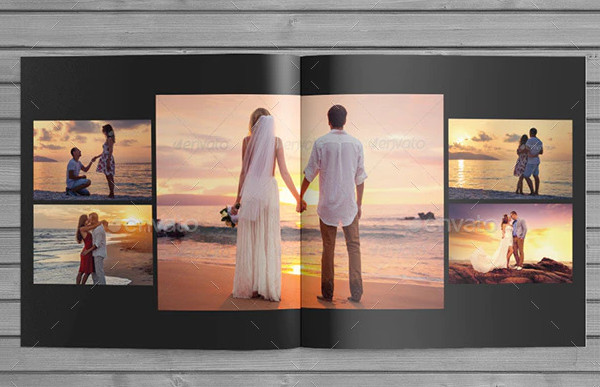 Wedding Album Templates for Photographers