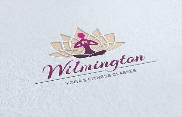Elegant Yoga & Fitness Logo