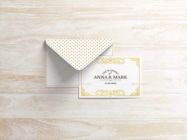 Envelope or Invitation Mock-Up
