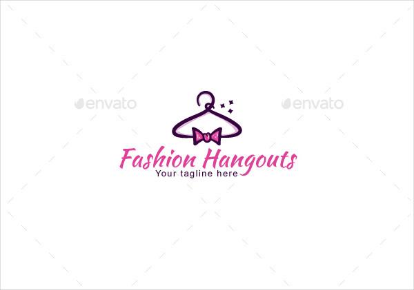 Fashion Hangouts Stock Logo Template