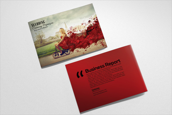 Fashion Promotion Bifold Brochure Template