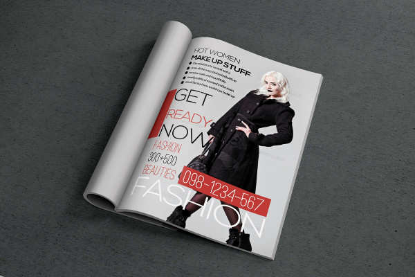 Fashion & Style Magazine Cover Template