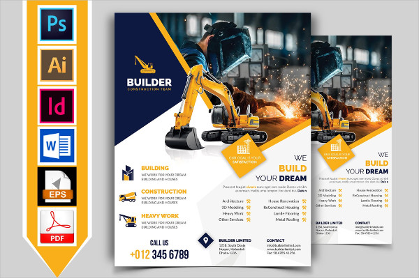 Flyers For Promoting or Marketing their Service