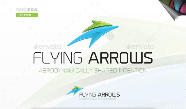 Flying Arrows Logo Design