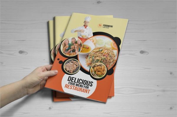 Food Menu Bifold And Trifold Brochure