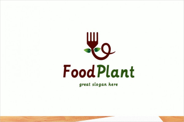 Food Plant Logo Template