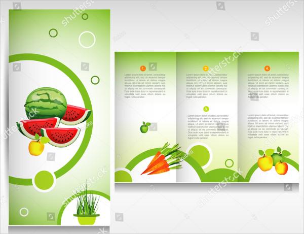 Food & Vegetable Brochure Design