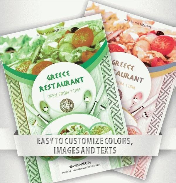 Free Download Restaurant Opening Flyer