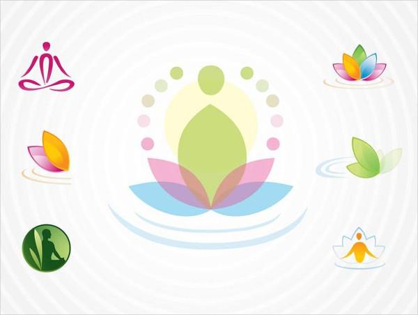 Free Download Yoga Logo Templates Pack