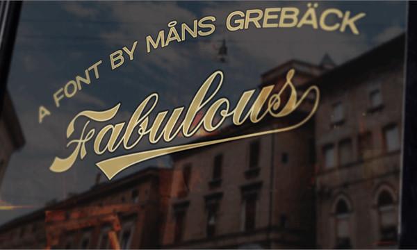 Free Fabulous Personal Use Font