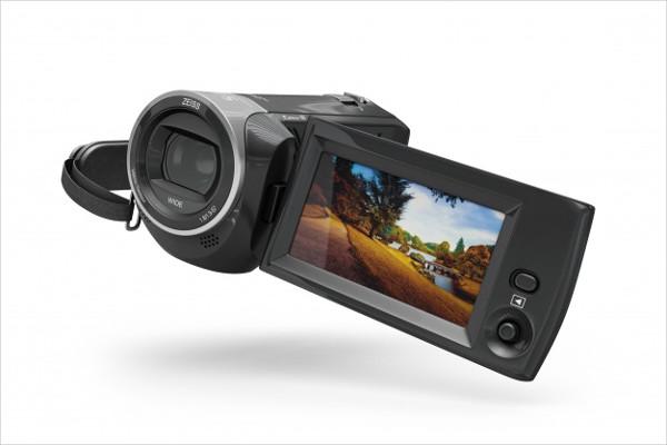 Free PSD Camera Mockup Download