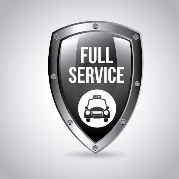 Free Taxi Agent Logo Template