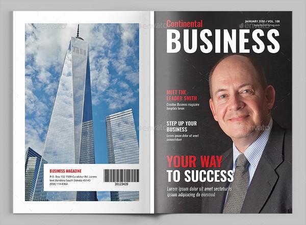 Fully Editable Magazine Template