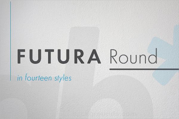 Futura Round Bold Font