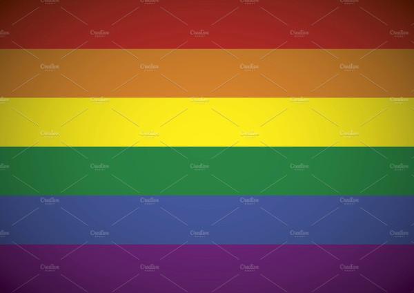Gay flag rainbow background