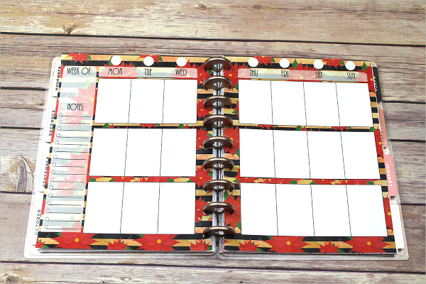 Happy Planner Weekly Template