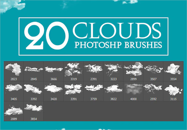High Quality Professional Cloud Brush Pack