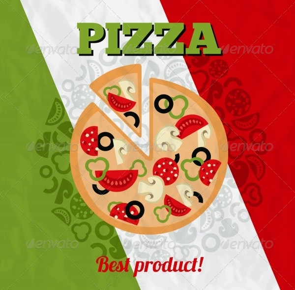 Italy Pizza Poster Template