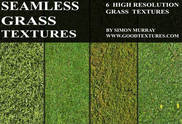 Juicy Collection of Seamless Grass Textures Free
