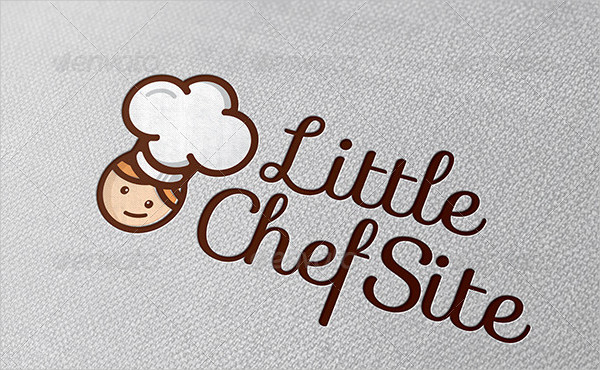 Little Chef Site Logo Template
