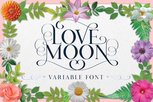 Love Moon Variable Font