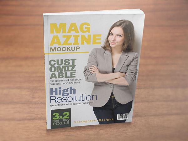 Magazine Spread Mockups