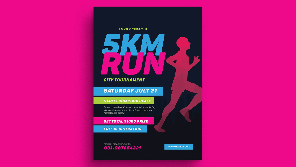 Marathon Flyer Templates