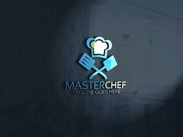 Master Chef Logo Template