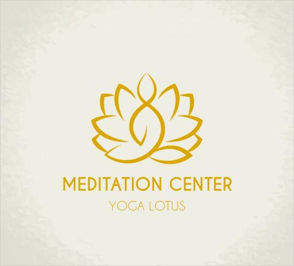 Meditation Center Logo Free Download