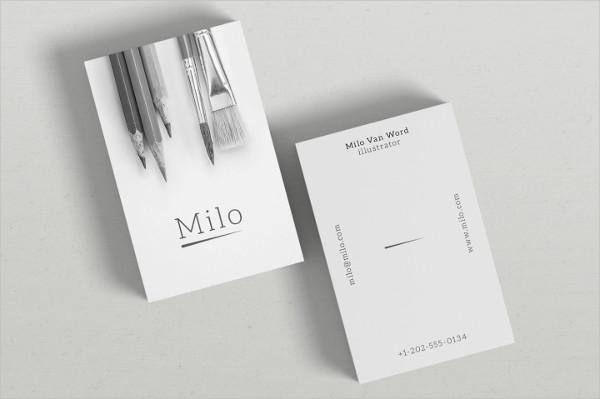 Milo Business Card
