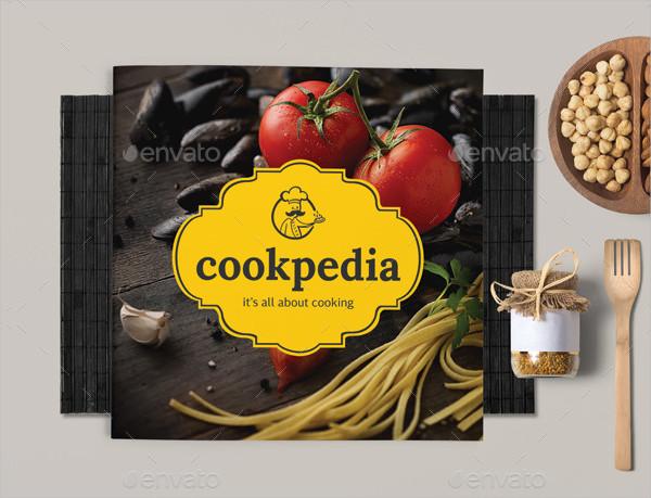 Minimal Food Catalog or Brochure