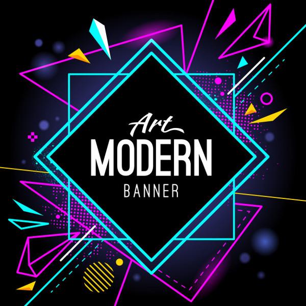 Modern Graphic banner Background