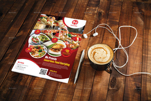 Modern Restaurant Flyer Design