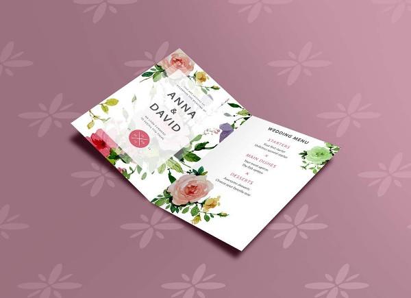 Open Invitation Card Mockup Free Download