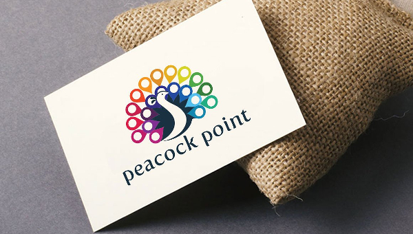 Peacock Logo Templates