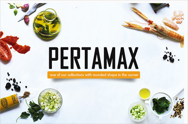 Pertamax Rounded Font