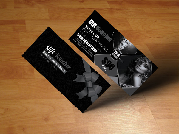 Photography Gift Vouchers Template