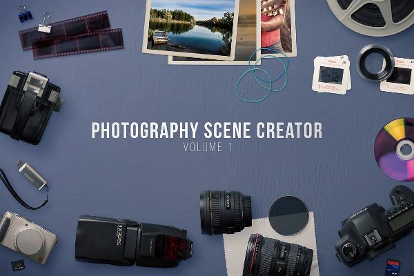 Photography Scene Creator