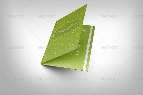 Popular Invitation and Greeting Card Mockup