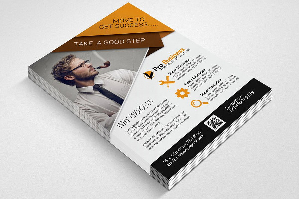 Clean Business Training Agency Flyer Template