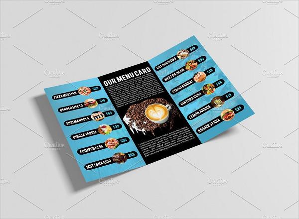 Print Ready Food & Restaurant Brochure Design