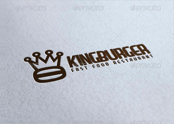 Printable Burger King Logo Template